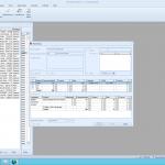 CRM module admin window