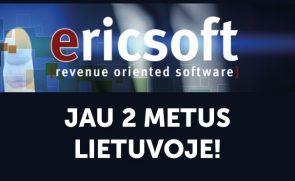 Ericsoft jau 2 metus Lietuvoje