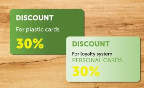 loyalty system plastic cards discount